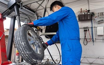 タイヤ販売・交換サービス
